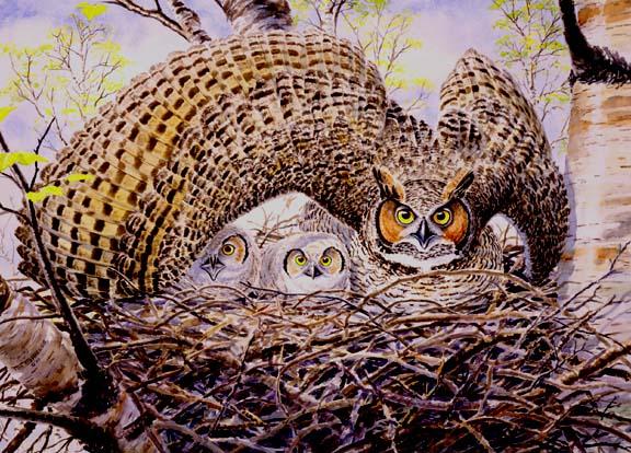 Maternal Instinct Tim Shields Art